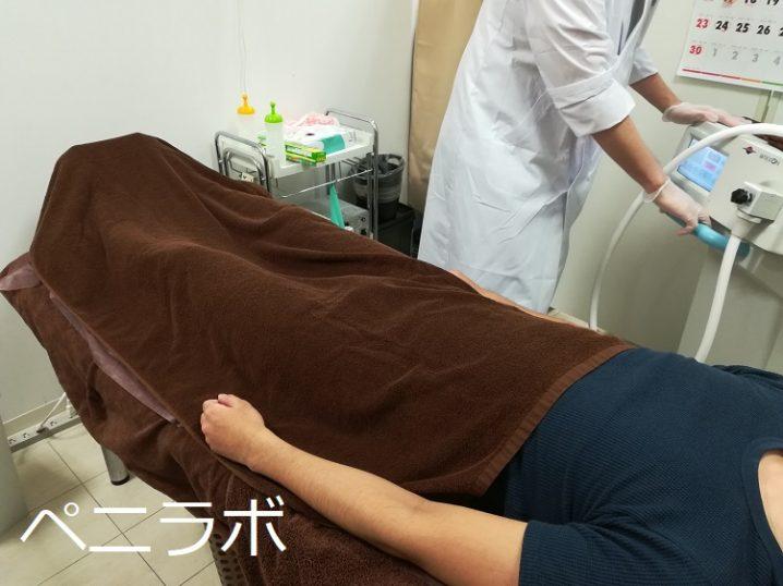 ED治療の準備をしている写真
